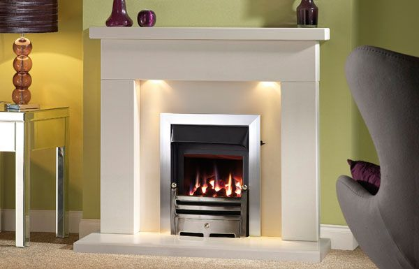 Belmonte 48 Barley White Chiltern Fireplaces