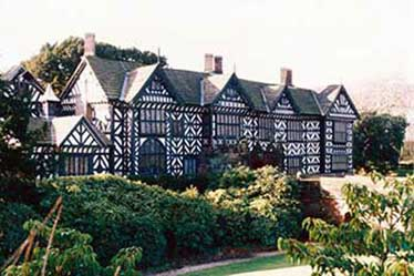 Lost Tudor fireplace discovered at Speke Hall